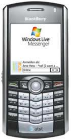 blackberry windows live