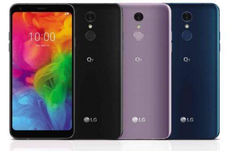 LG presenta una nuova serie di smartphone Q7 di fascia media