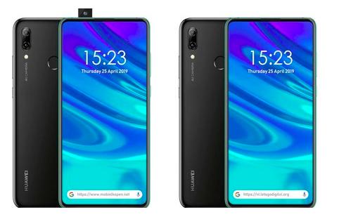 Nello smartphone P Smart Z di Huawei la fotocamera frontale è a scomparsa
